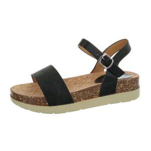 Mulanka Flade Sandal Sort