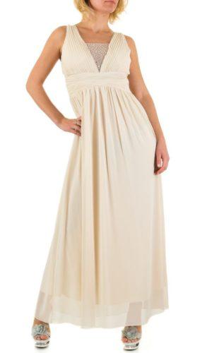 Emma & Ashley L58724 Lang kjole Beige