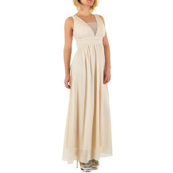 ca0a66c9 Emma & Ashley L58724 Lang kjole Beige - Ladies Fashion