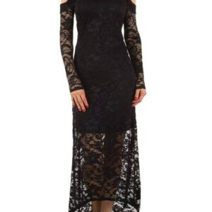Voyelles L076 Blonde kjole Sort