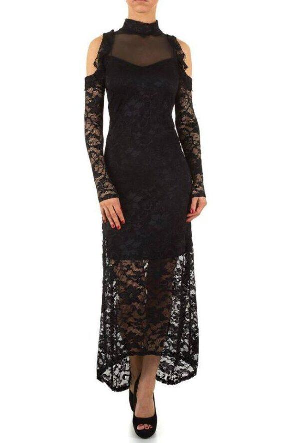 591a46c9 Voyelles L076 Blonde kjole Sort - Ladies Fashion