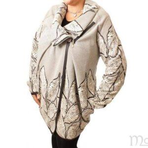 Plus Size Maelle jakke Beige