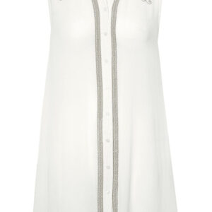Capri Collection Ivy Skjorte Tunika Hvid
