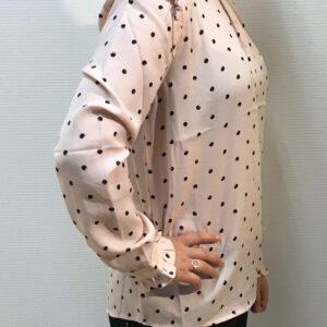 Papaya Bluse Fersken rosa