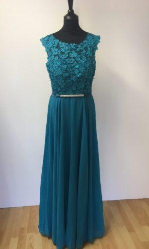 Diva Fashion L8068 Gallakjole Turkis
