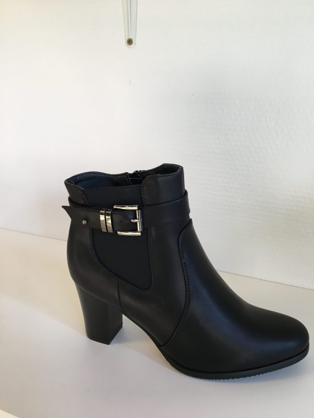 678ec01eec49 Super mode Ankelstøvle Sort - Ladies Fashion