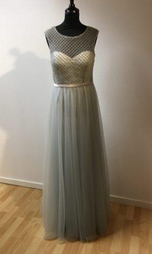 Diva Fashion L8572 Gallakjole Grå