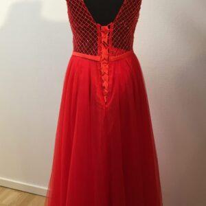 Diva Fashion L85721 Gallakjole Rød