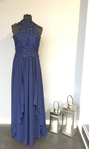 Diva Fashion L86561 Gallakjole Marineblå
