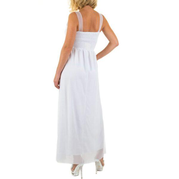 aba567d0 Emme & Ashley L5872 Lang kjole Hvid - Ladies Fashion