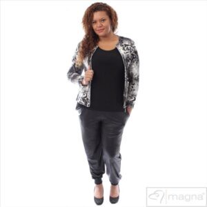 Plus Size Bukser Sort