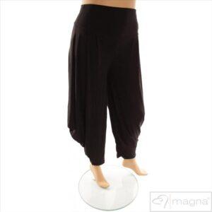 Plus Size Bukser Sort