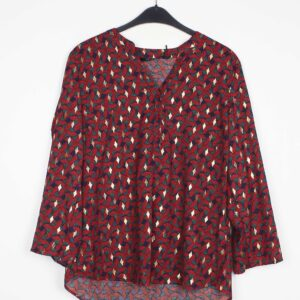 Christy Bluse Med Print