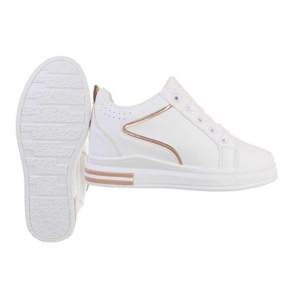 sneakers i hvid