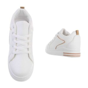 Top-top Sneakers Hvidchampagne