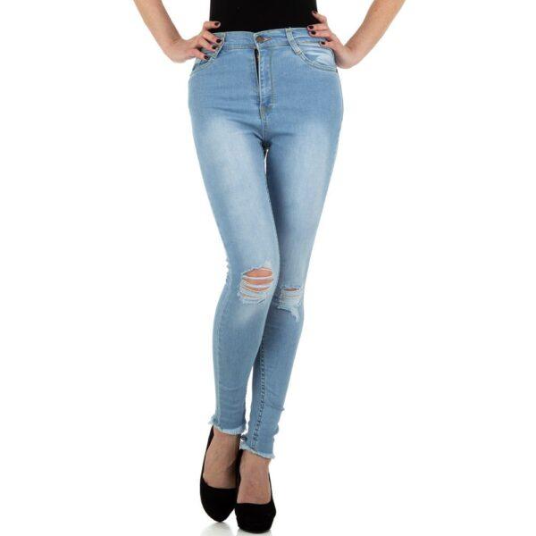 Jeans med huller