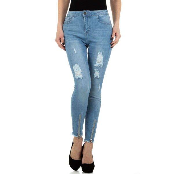 Jeans i blå